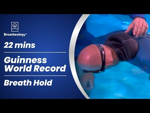 Crazier than Baumgartner (22 minutes breath hold NEW Guinness World Record by Stig Severinsen)