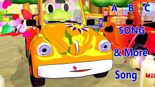 ABC Car Song & More Song | Kids Songs | Nursery Rhymes | Baby Songs | Children Songs