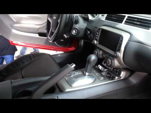Interior 2014 Chevrolet Camaro SS 2014 video review Caracteristicas