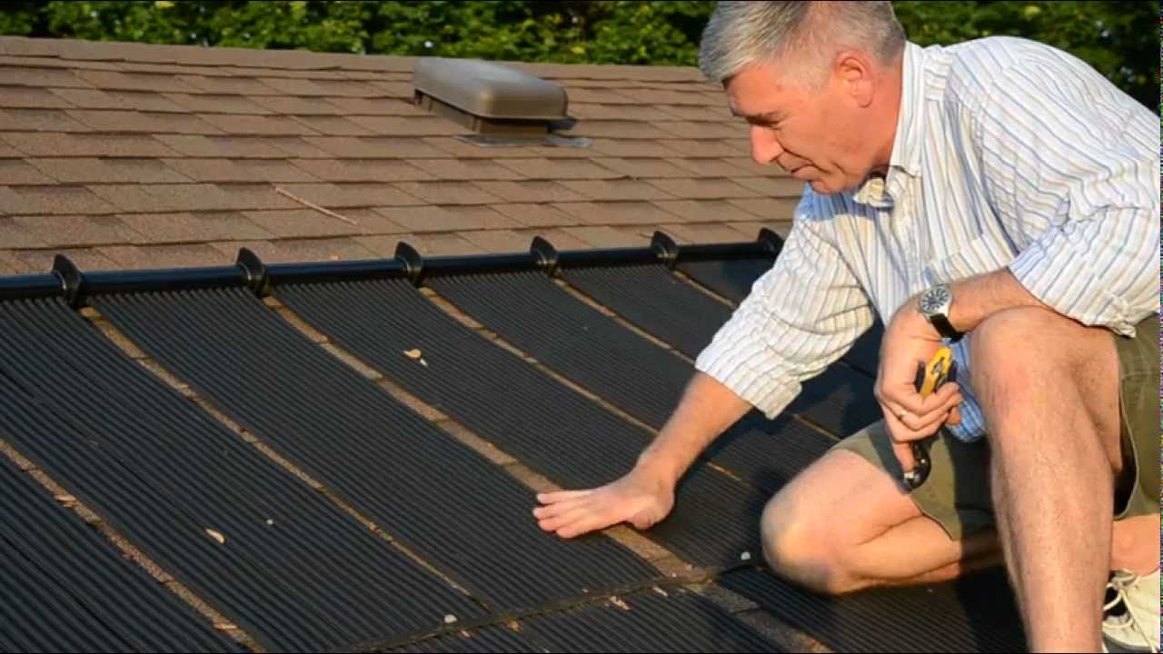 Pool Solar Panel A How To Fix Youtube