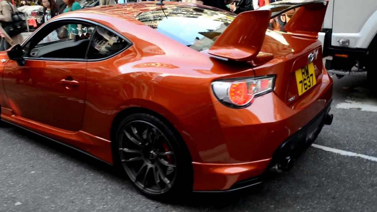 toyota gt86 tuned with aero kit hong kong youtube. Black Bedroom Furniture Sets. Home Design Ideas