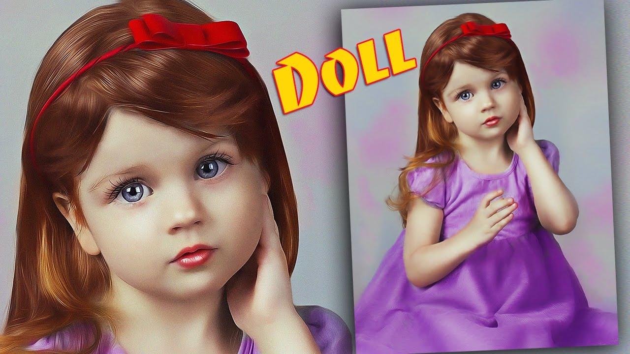 Как сделать doll face