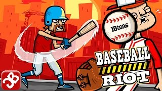 Baseball Riot (By 10tons Ltd) - iOS/Android - Gameplay Video