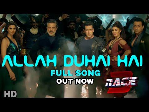 Allah duhai hai Race 3 Song | Allah duhai hai Full song 1 day to go | Salman khan | Amit Mishra thumbnail
