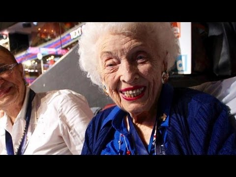 102-Year-Old Born Before Women Could Vote Cast Delegates For Hillary Clinton