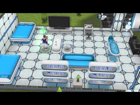 The Sims FreePlay- Sci Fi Shuttle
