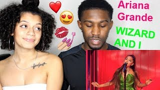 "Ariana Grande ""The Wizard and I"" Live Performance REACTION!! Jaz & Alex"