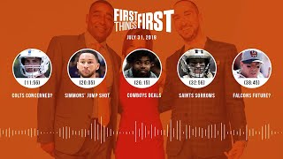 First Things First audio podcast (7.31.19)Cris Carter, Nick Wright, Jenna Wolfe | FIRST THINGS FIRST