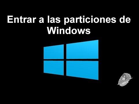 Entrar a las particiones de Windows 8 desde GNU/Linux. Mint. Ubuntu. Debian. Fedora. Arch