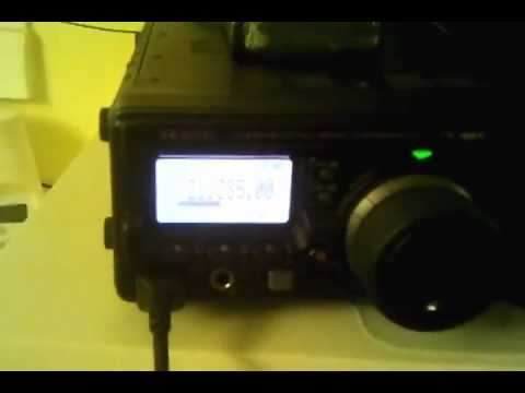 Yaesu FT-897D internal antenna tuner test