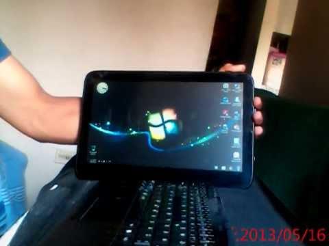 Sitema de Windows 7 en Tablet Vit
