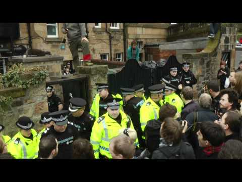 GUST News Special: Hetherington Research Club eviction and Police reaction
