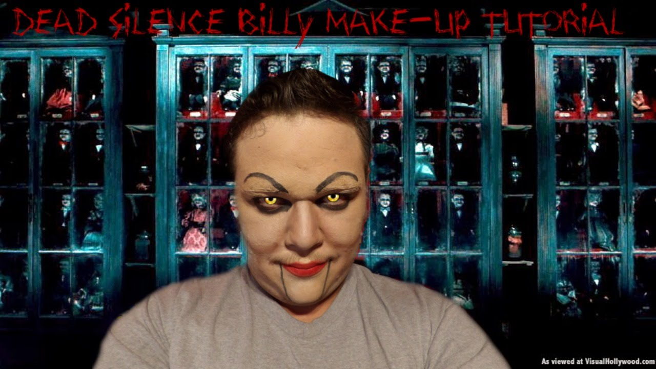Billy Dead Silence Costume Dead Silence Billy Make up
