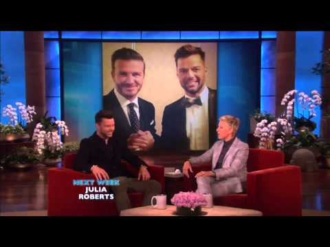 (INTERVIEW) Ricky Martin on The Ellen DeGeneres show - May 2, 2014 - HD.