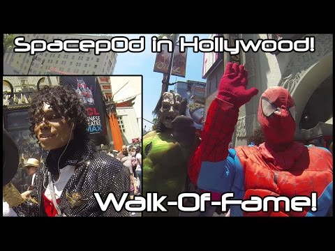 Spacep0d on the Hollywood Walk-Of-Fame!