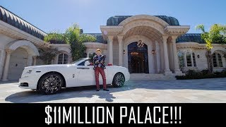 $11MILLION PALACE IN THE MOUNTAINS!