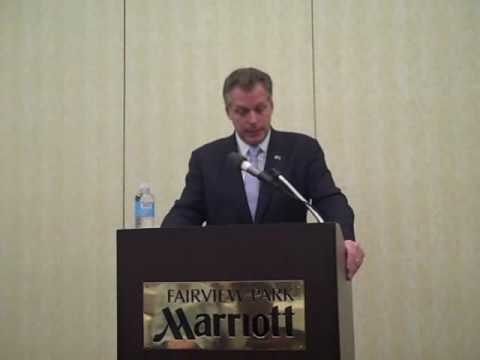 Terry McAuliffe at NOVA Dem. Business Council Meeting (Part 2)