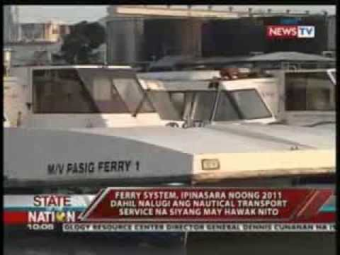 Pasig River Ferry, isinusulong na buksang muli para maging alternative transportation