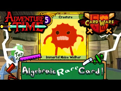 Card Wars: Adventure Time Gold Immortal Maize Walker! Episode 32 Gameplay Walkthrough Android Ios video