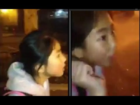 Asian Girl Holds her Own Against Coward Thugs