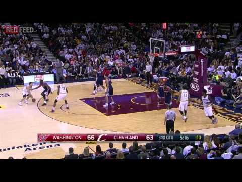 Washington Wizards vs Cleveland Cavaliers - Full Game Highlights - April 15, 2015 - NBA 2014-15