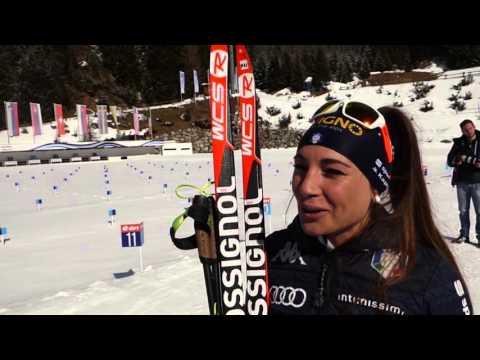 """Dorothea Wierer per spotface: """"Ad Oslo voglio una medaglia"""""""