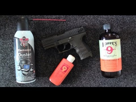 How to clean your Walther P22 or Walther P22Q