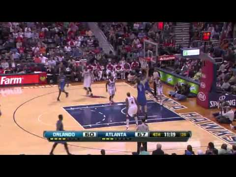 NBA CIRCLE - Orlando Magic Vs Atlanta Hawks Highlights 30 March 2013 www.nbacircle.com