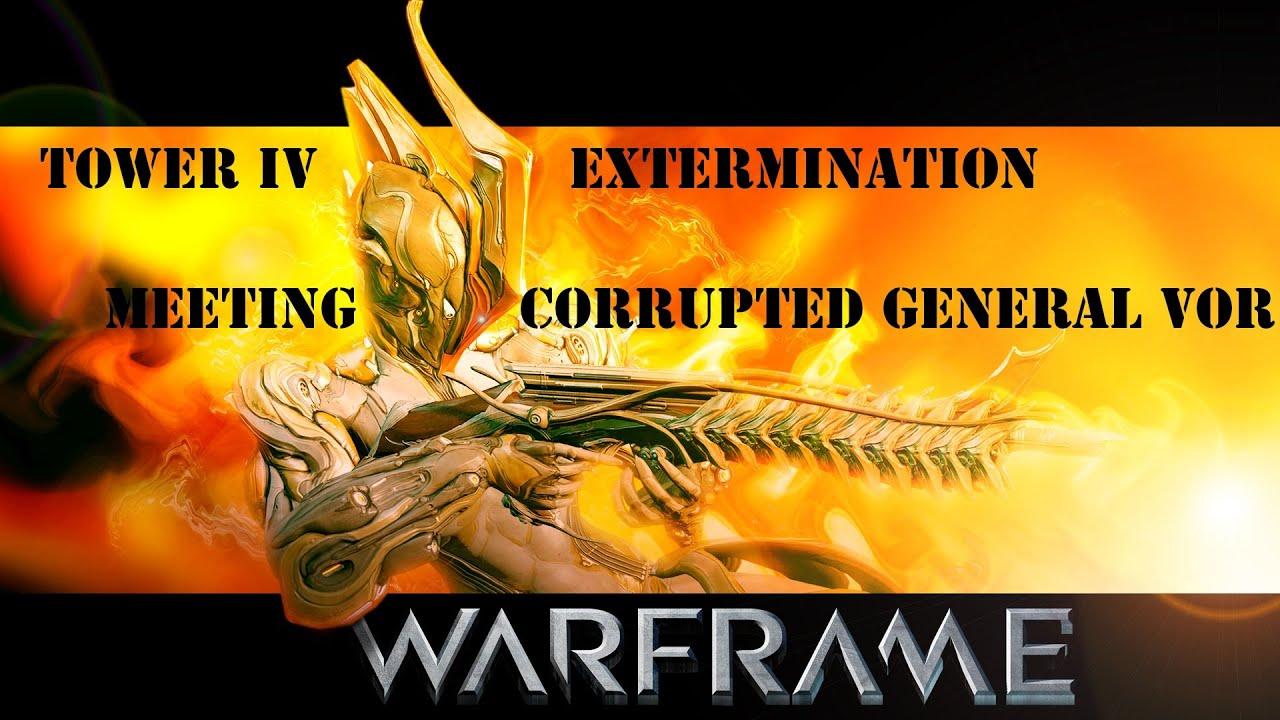 Warframe Видео урок Как выбить ключ бездны (Башни) Б-4