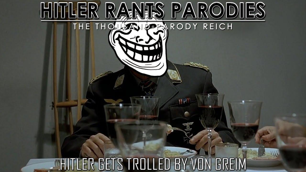 Hitler gets trolled by von Greim