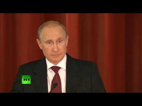 Putin: Road to peace can't lie through war