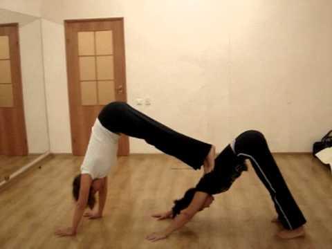 обучение танцам, СТРЕТЧИНГ - упражнения на растяжку