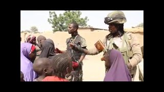 Watch: The Exploits Of Gallant Nigerian Soldiers In The North East