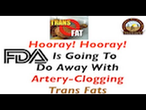 FDA Is Going To Do Away With Artery-Clogging Trans Fats