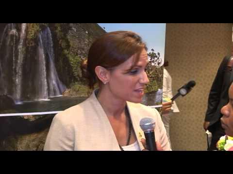 Haiti Minister of Tourism Stephanie Villedrouin