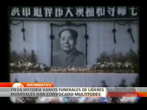 Funerales que han convocado asistencia multitudinaria en la historia del mundo