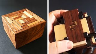 INCREDIBLE WOODEN BOXES THAT ARE FULL OF SECRETS