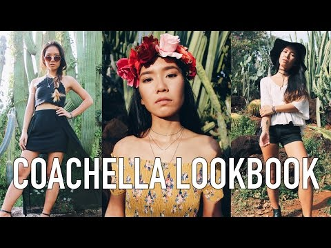 Coachella / Music Festival Inspired Outfits 2017