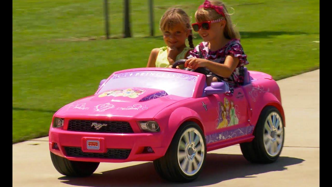 Ford Mustang Barbie Car