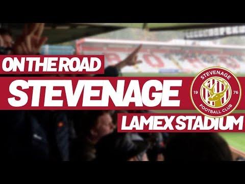 On The Road - STEVENAGE FC @ LAMEX STADIUM