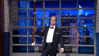 Rainn Wilson Is The Bassoon King