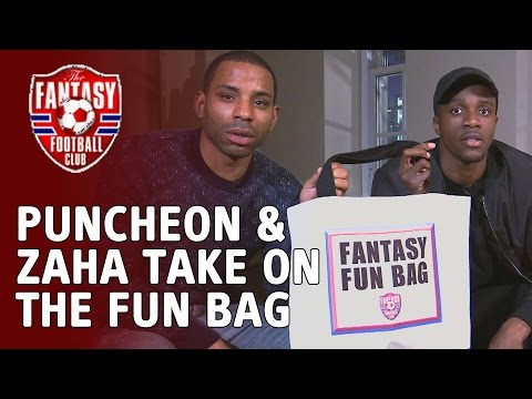 Fantasy Fun with Jason Puncheon & Wilfried Zaha - The Fantasy Football Club