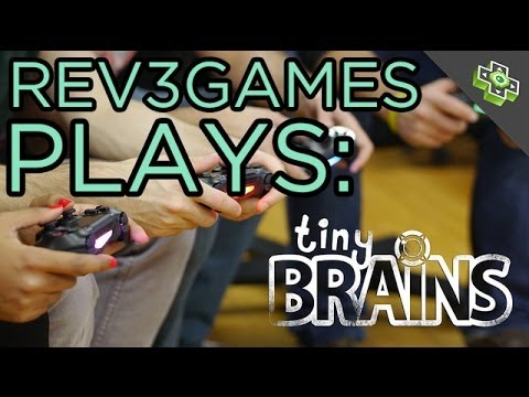TINY BRAINS for PS4 Live! - Rev3Games Plays
