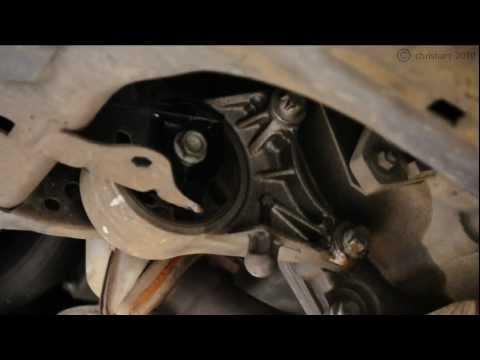 Astra G Powerflex engine mount Installation