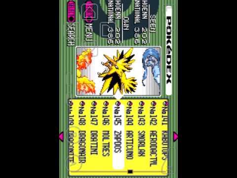 Pokemon emerald 100 complete pokedex save file youtube