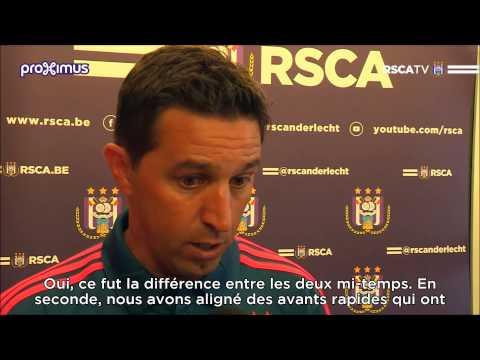 Interview Besnik Hasi after RSCA - Lazio Roma