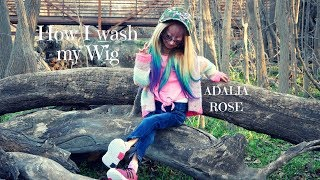 Washing and Styling my WIG!