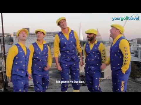 Lee Westwood Ryder Cup Song #BringTheSongs with Your Golf Travel & The Guardians