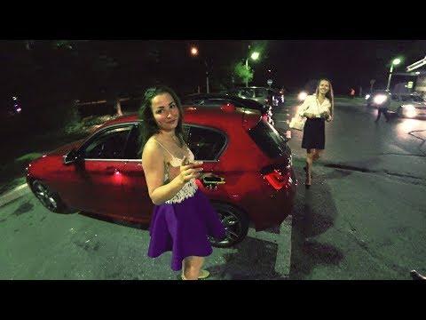 Знакомлюсь с девчонками на BMW | Пикап на харлее