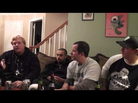 KRIEG 2012 Interview Part 4 METAL RULES! TV Black Metal Band